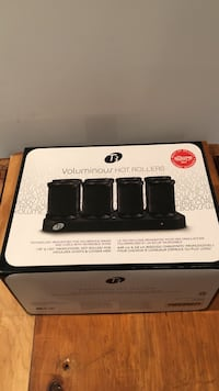 T3 Voluminous pro 8 Hot Rollers new in box set Nashua