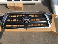 chrome and black Toyota grille Vaughan