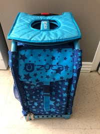 Zuca bag with lighted wheels  Surrey, V3T 2S4