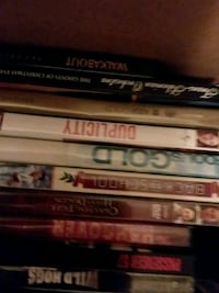 four assorted DVD movie cases Roanoke, 24017