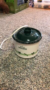 White and green electric stoneware server Olney, 20832