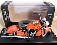 Brand new 1:8 Scale Metal Indian Motorcycle Barrie, L4N 7C9