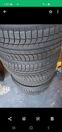 Michelin latitude snow tires 235/55/18 Howard County, 20763