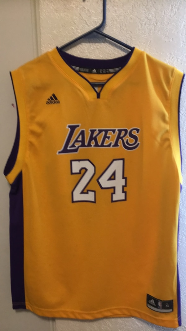dcf164e6c7b Used Lakers jersey Kobe Bryant for sale in Indio - letgo