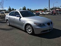 2005 BMW 5 Series SILVER Vancouver, 98663
