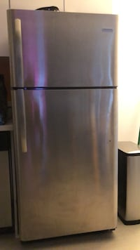 Stainless Steel Like new Apartment Refrigerator