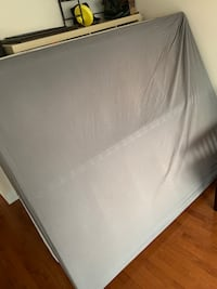 Excellent Condition (5mths) Queen Bed Box and Frame Toronto, M5B 1H8
