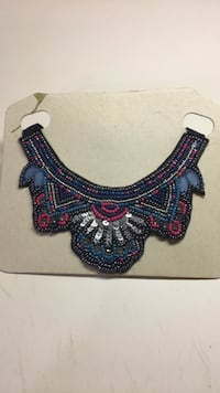 blue and red beaded necklace South Elgin, 60177