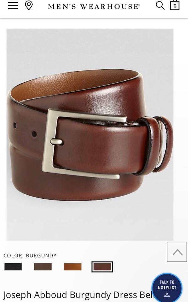d6339f79ecc Used brown leather belt with silver buckle for sale in Tampa - letgo