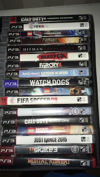 assorted Sony PS3 game cases New Westminster, V3L