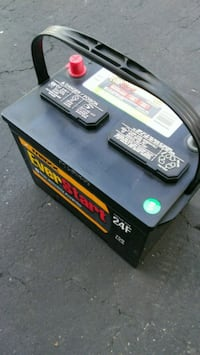black and gray car battery Chicago, 60610