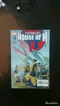 HOUSE OF M #1 AND #2