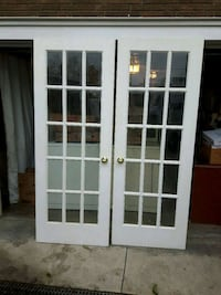 """French door 34 """" × 80 """"  int/ext solid"""