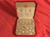 1999-2000 Millennium Canada Coins Chinese Special Edition Set Toronto