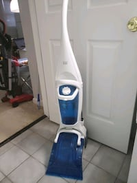 white and blue upright vacuum cleaner Frederick, 21702