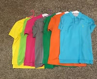 16 Men's Shirts size Large-$15 each  Odessa, 79765