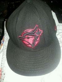 New red and black blue jays hat size 7 5/8  Edmonton, T5W 4L3