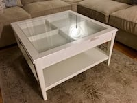 White Coffee table with storage and drawer Gaithersburg, 20878
