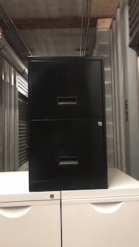 Black 2-drawer filing cabinet Capitol Heights, 20743