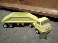 yellow and black truck toy Sainte-Julienne, J0K 2T0