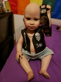 WWF STONE COLD AS A BABY PORCELAIN DOLL   Bean Station, 37708
