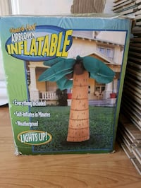 Giant Inflatable Lighted Palm Tree Acton, L7J 2P3