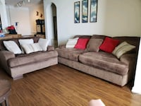 Fielding sofa and oversized chair with ottoman Largo, 33773