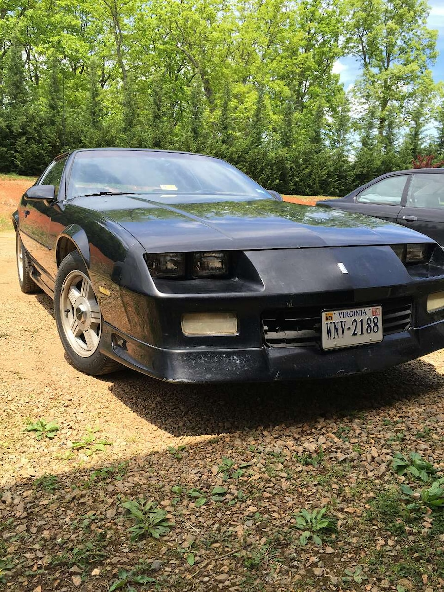 used 1992 chevy camaro rs 25th anniversary 5 sp in rocky mt. Black Bedroom Furniture Sets. Home Design Ideas