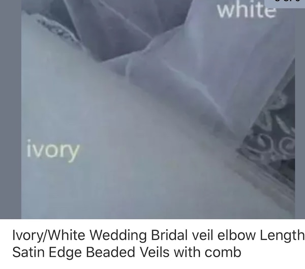 New without tags Elbow size Veils. b2ac27f1-88cf-45ad-9814-5497b5fa2b9f