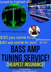 Bass amp tuning service! Warren