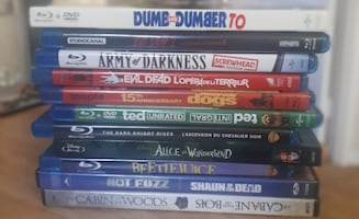 11 Blu-Ray and DVD Movies (Read Description)