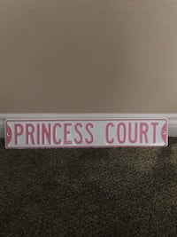 "Metal ""Princess Court"" sign Las Vegas, 89113"
