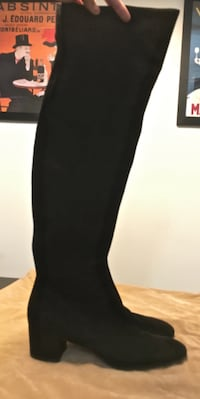 Gianvito Rossi over the knee boots/size 40.5 NEWYORK