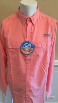 Columbia Men's PFG Shirt Size Large-NWT 594 mi