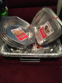 Thick Jiffy foil pans with lids