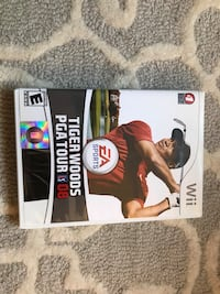 Limited edition Tiger Woods PGA tour for wii Des Plaines, 60016