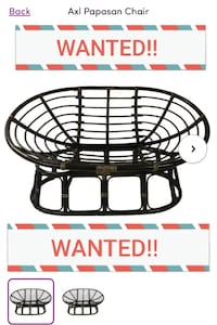 WANTED  Papason Loveseat frame.