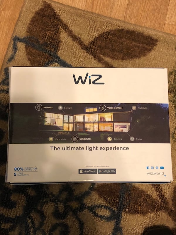 WiZ smart light d239f688-664d-4fd8-8db3-cc8c8a115790