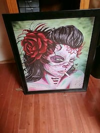 """24"""" by 33"""" scull painting Albuquerque, 87111"""