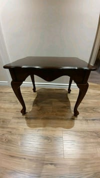 Antique solid wood brown sid3 table Hamilton