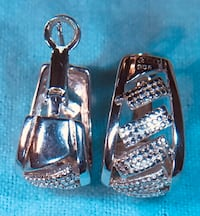 Beautiful authentic Tiffany & Co. silver earrings Silver Spring, 20904