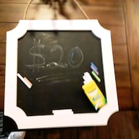 Chalk chalkboard with colorful chalk and white cha Bakersfield, 93308