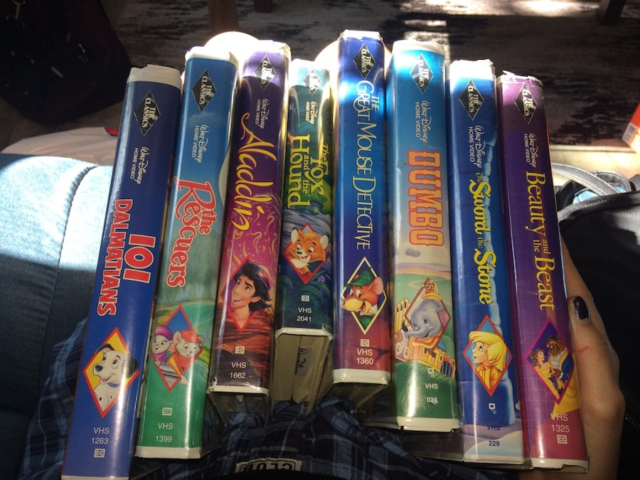 Photo Disney VHS tapes