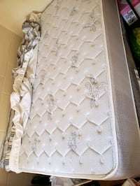 Full firm Mattress with bed protector