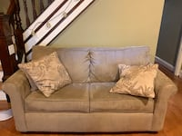 (2) Pullout couch