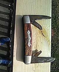 brown and gray folding knife Greenville, 29611