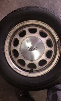 Wheels and tires. Fox body wheels with tires for $50. Ronkonkoma, 11779