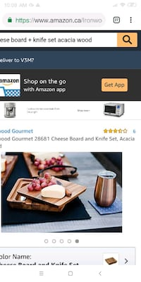 Brand New Cheese Board+Knife Set (Mother's Day)