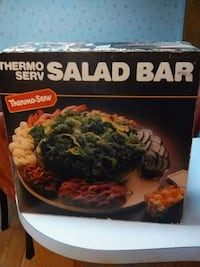 Thermo Serv Salad Bar Orange, 92869