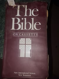 Bible on Cassette Moriarty, 87035